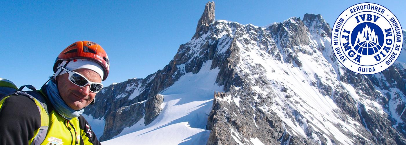Jean-Christian Lichaire - Guide de haute montagne à Chamonix, en Maurienne, dans les Alpes Italie, Suisse, Autriche et Grèce